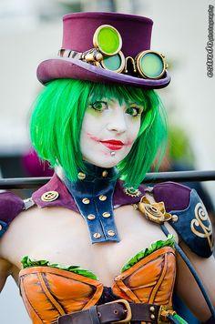 #Steampunk #Joker #halloween #costume www.bodycandy.com
