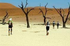 Desert Challenge - running in Sossusvlei Namibia