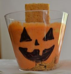 Jack-O-Lantern Cups - Pinned by @PediaStaff – Please visit http://ht.ly/63sNt for hundreds of pediatric therapy pins