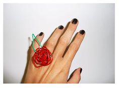 Make a Paperclip Ring