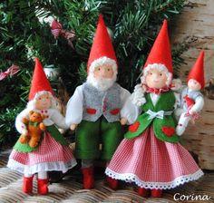 Gorgeous gnomes by Corina