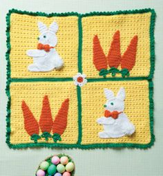 Cottontail Blanket | crochet today