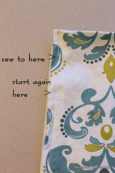 How to Make Curtains: A super simple straight line sewing tutorial ~ * THE COUNTRY CHIC COTTAGE (DIY, Home Decor, Crafts, Farmhouse)