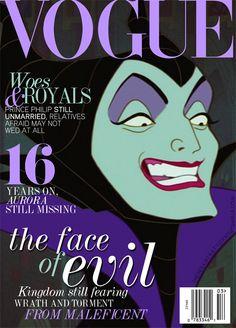Maleficent (Vogue)
