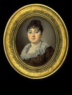 Louis Marie Sicard, genannt Sicardi    Lady in Brown Dress    1806