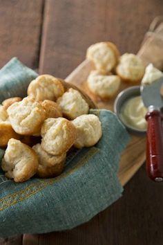Sour Cream Butter Biscuits on PaulaDeen.com #pauladeen