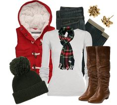 """""""Christmas Cozy"""" by qtpiekelso on Polyvore"""