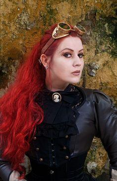 Steampunk Ladies-PortraitsKato Steampunk Red Hair