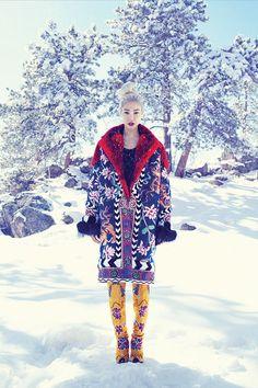 angel, joo park, snow, parks, fashion blogs, fashion editorials, soo joo, fashion bloggers, winter dresses