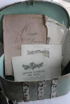 Old romantic letters