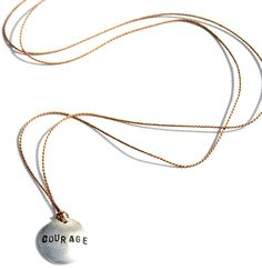 Courage Cancer Gift Necklace cancer gifts