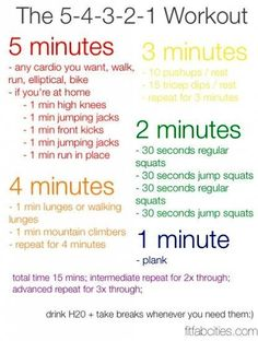 15 Minute Full Body Workout