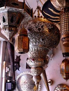 moroccan lanterns @m