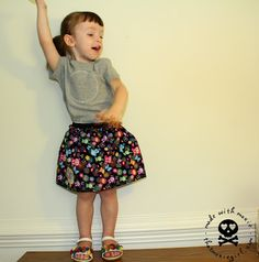 Fat Quarter Skirt Tutorial