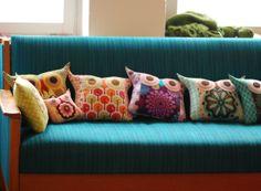 DIY: owl pillows!!!
