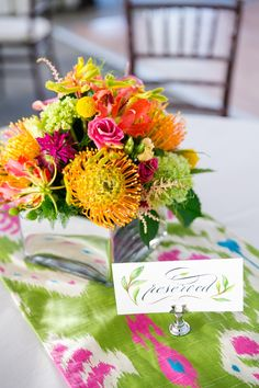 Colorful Lilly Pulitzer Inspired Wedding
