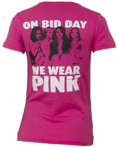 haha great idea for a bid day shirt.