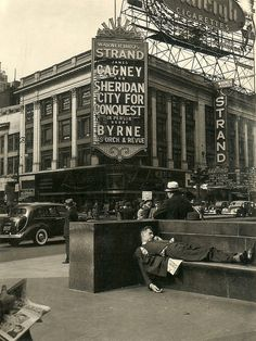 Strand Theatre, Broadway, New York in 1940