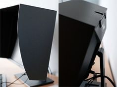 avoid sun on your screen by building a monitor hood