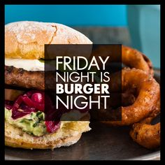 Friday Night is Burger Night at Woolies :)