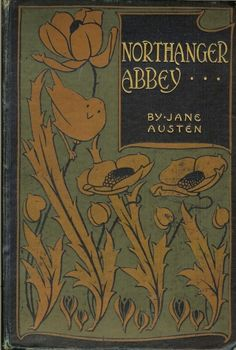Northanger Abbey | poppies | books.