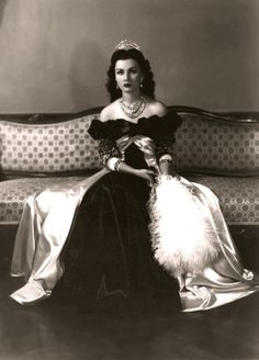 Princess Fawzia Fuad of Egypt, first wife of Mohammad Reza Pahlavi, the last Shah of Iran, and Queen from 1941 until they divorced in 1948.