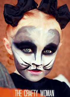 How to Paint a Face: Black Cat
