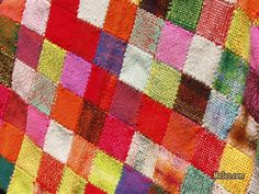 Weave-it blanket, so colorful!