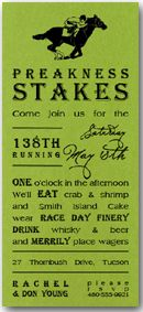 ...Preakness Party