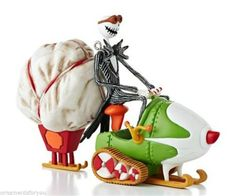 Hallmark 2013 Jack's Sleigh o' Scares Tim Burton Nightmare Before Christmas