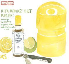 Rita Konig Ice Bucket illustration