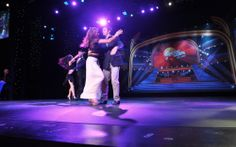 Seen at round two of Dancing With The Stars: At Sea on #halcruises #dwts #dwtsatsea