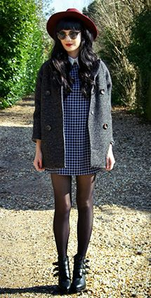 One in a Million does the perfect 60's inspired outfit <3