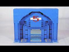 How To Build a LEGO Bank Entrance / Building Facade - YouTube