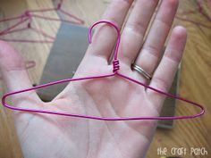 The Craft Patch: DIY Wire Hangers for Doll Clothes