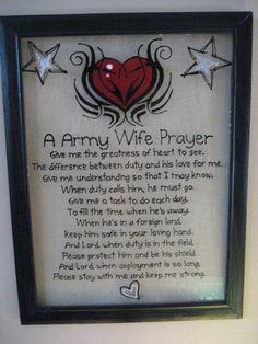 ARMY Wife Prayer
