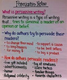 writing a persuasive essay grade 5
