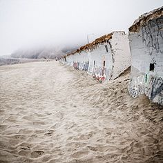 Sea Wall Ocean Beach, San Francisco