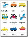 Tons of FREE Transportation theme printables!