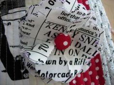 Fabric Flower Tutorial, deux