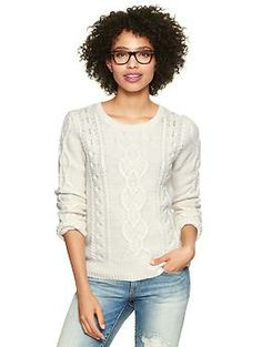 $54.95 Cable knit pullover | Gap