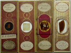 Even Victorian microscope slides were beautifully ornate