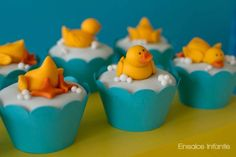 #Ducky Duck Cupcake Toppers