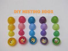 H is for Homeschooling: DIY Nesting Eggs