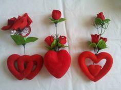 Corazones y rosas para San Valentin
