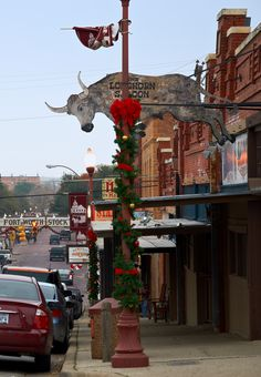 Stockyards. Fort Worth, Texas.