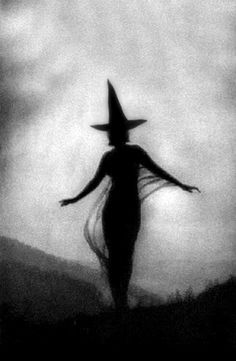 tattoo idea, vintage halloween, halloween witches, witchi, halloween costumes, shadow, silhouettes, black, wicked