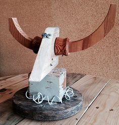 another win from our creative reuse workshop for kids  - #scrap #wood #robots