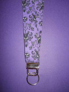 Disney Haunted Mansion Fabric Lanyard ID Badge by APieceoftheMagic, $10.00