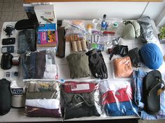 Vacation packing tips